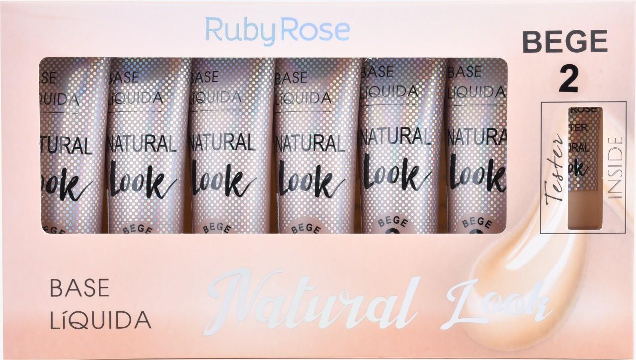 BOX DE BASE NATURAL LOOK BEGE 2  - RUBY ROSE