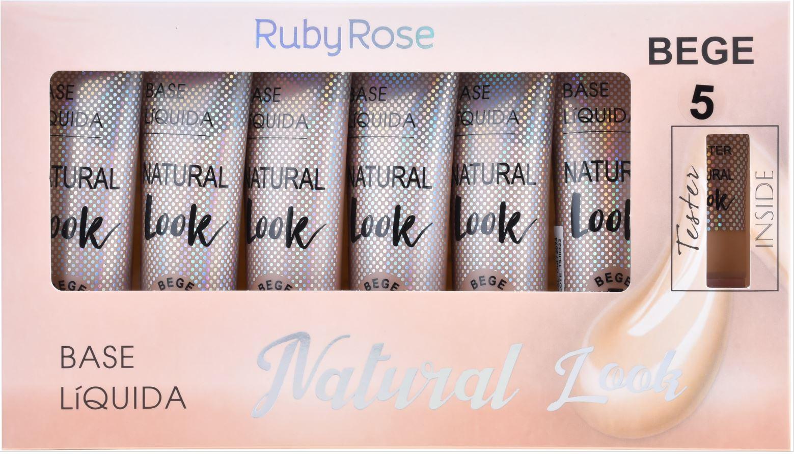 BOX DE BASE NATURAL LOOK BEGE 5  - RUBY ROSE