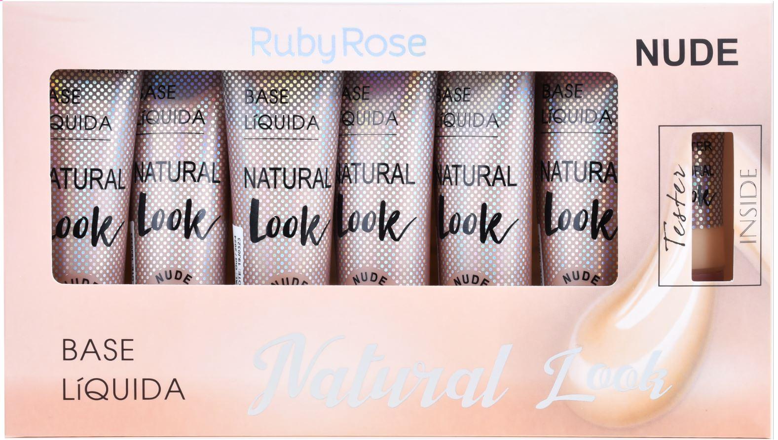 BOX DE BASE NATURAL LOOK NUDE 2 - RUBY ROSE
