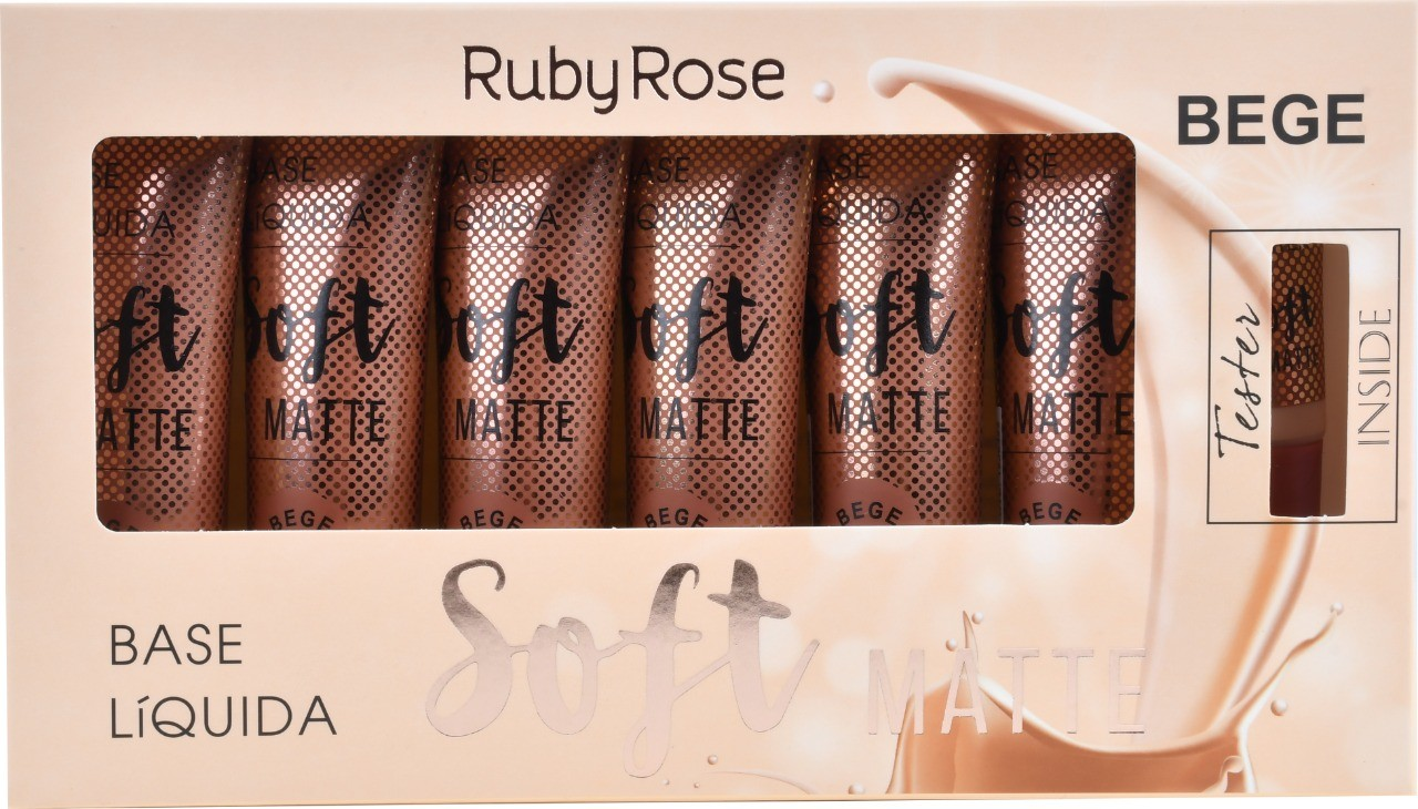 BOX DE BASE SOFT MATTE BEGE 5  - RUBY ROSE