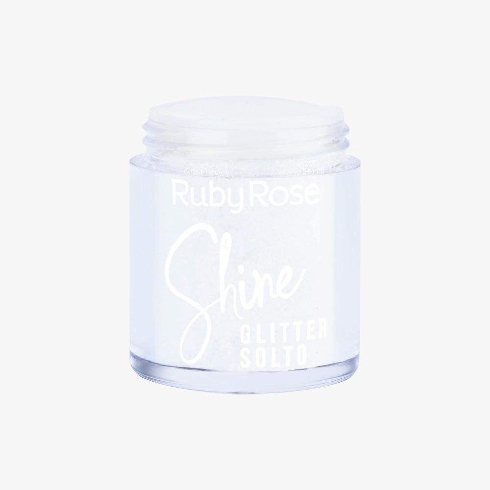 Glitter Solto Crystal Shine - Ruby Rose