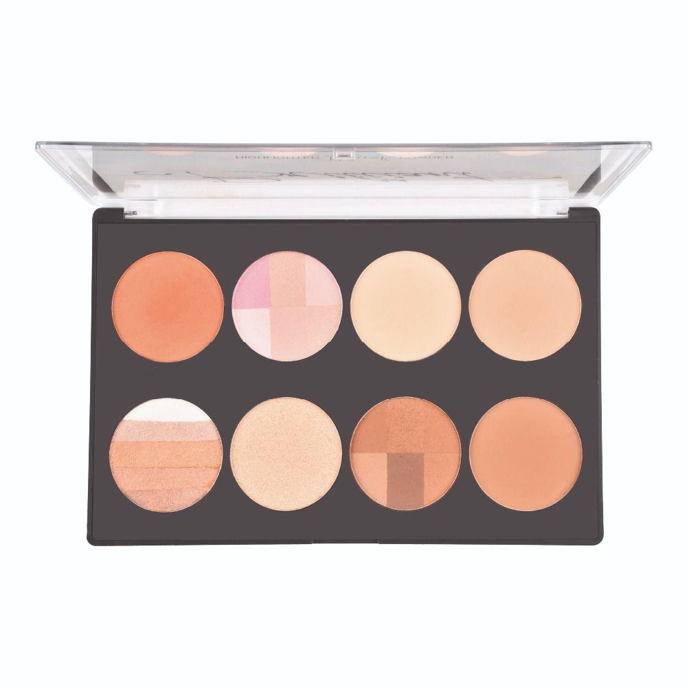Paleta Brilliant Highlighter Blush Powder