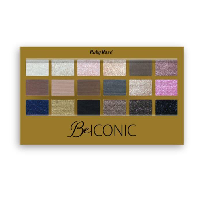 Paleta de Sombras Be Iconic HB9917