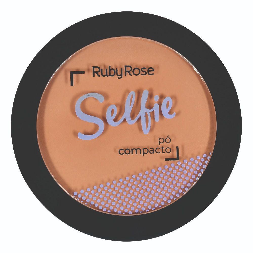 PÓ COMPACTO SELFIE CHOCOLATE 16 - RUBY ROSE