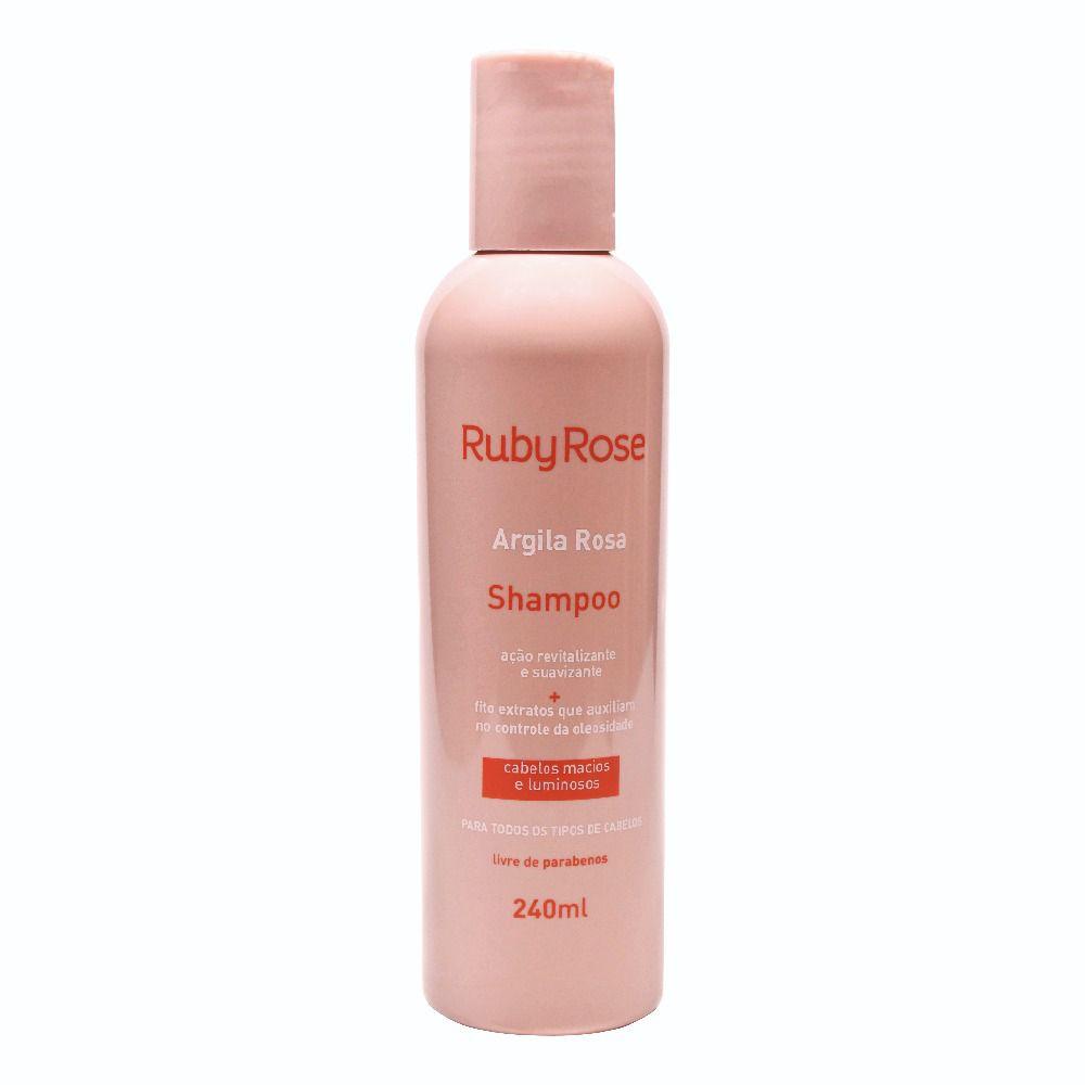 Shampoo Argila Rosa