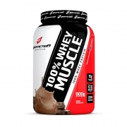 100% Whey Muscle - 900g - BodyAction