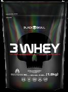 3 Whey - Black Skull - Refil - 1,8Kg