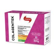 Colagentek CAIXA (30 sachês de 10g) - Vitafor