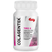Colagentek Tipo II - Vitafor - 60 cápsulas