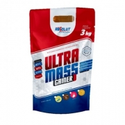 Ultra Mass Gainer - 3kg - Pouch - Absolut Nutrition