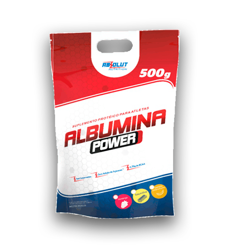 Albumina Power - 500g - Pouch - Absolut Nutrition