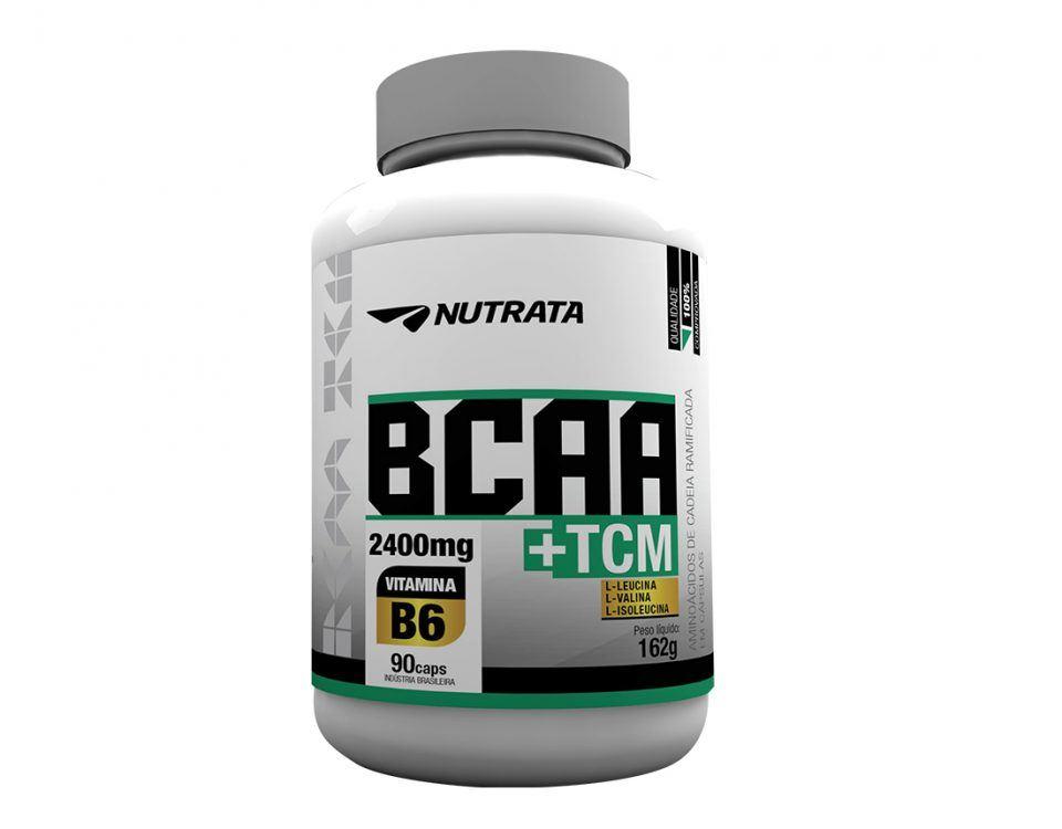 BCAA 2400 + TCM - Nutrata