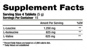 BCAA 2500 - Black Skull - 60 Tabletes
