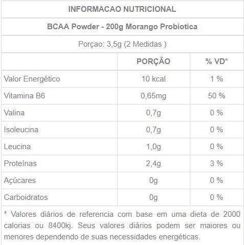 BCAA POWDER - 200g - Probiotica