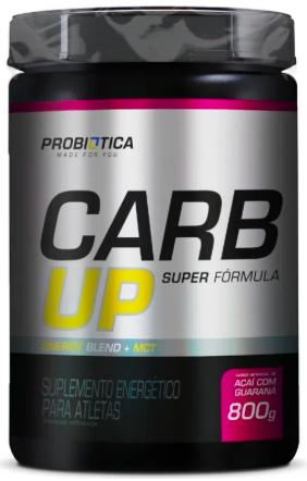 Carb Up Super Fórmula - 800g - Probiótica