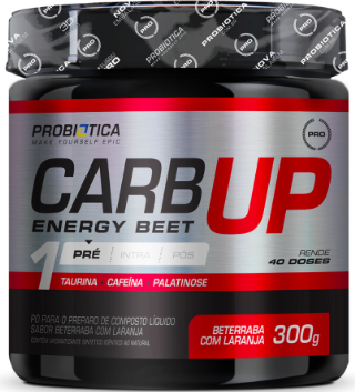 CarbUp Energy Beet - Probiotica