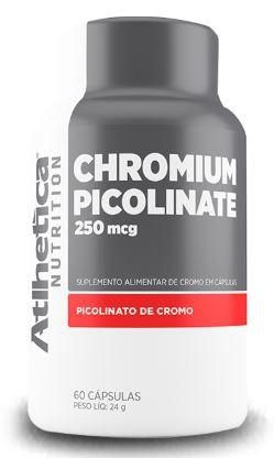 Chromium Picolinate 250mcg - 60 Cápsulas - Atlhetica Nutrition