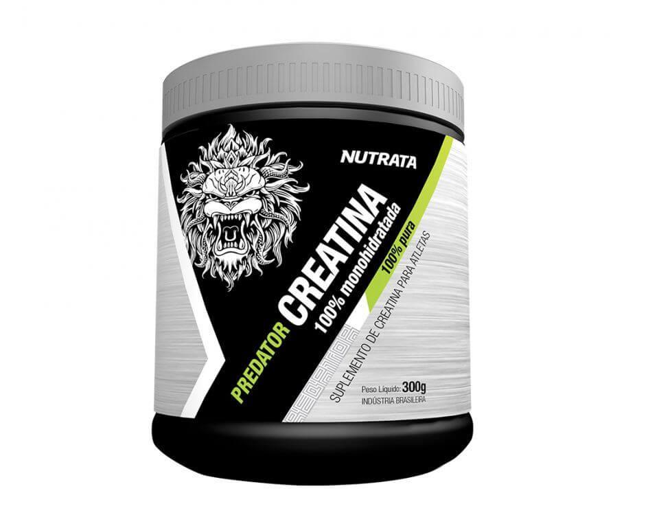 Creatina 100% Monohidratada - Predator - Nutrata