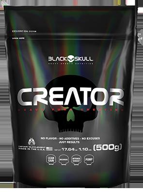 Creator - Black Skull - 500gr - Refil