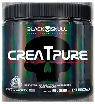 Creatpure - Black Skull