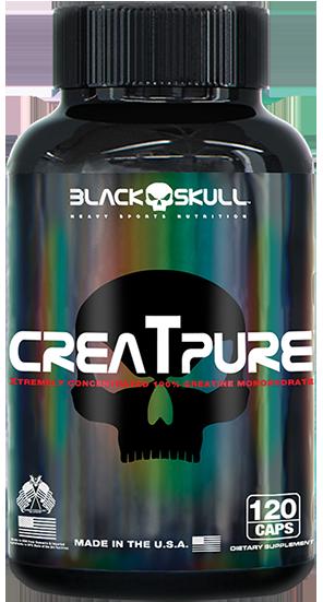 Creatpure - Black Skull - cápsulas
