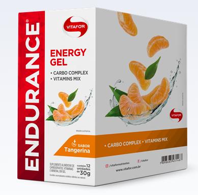 Endurance Energy Gel - Cx 12 - Vitafor