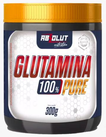Glutamina 100% Pure - 300g - Absolut Nutrition