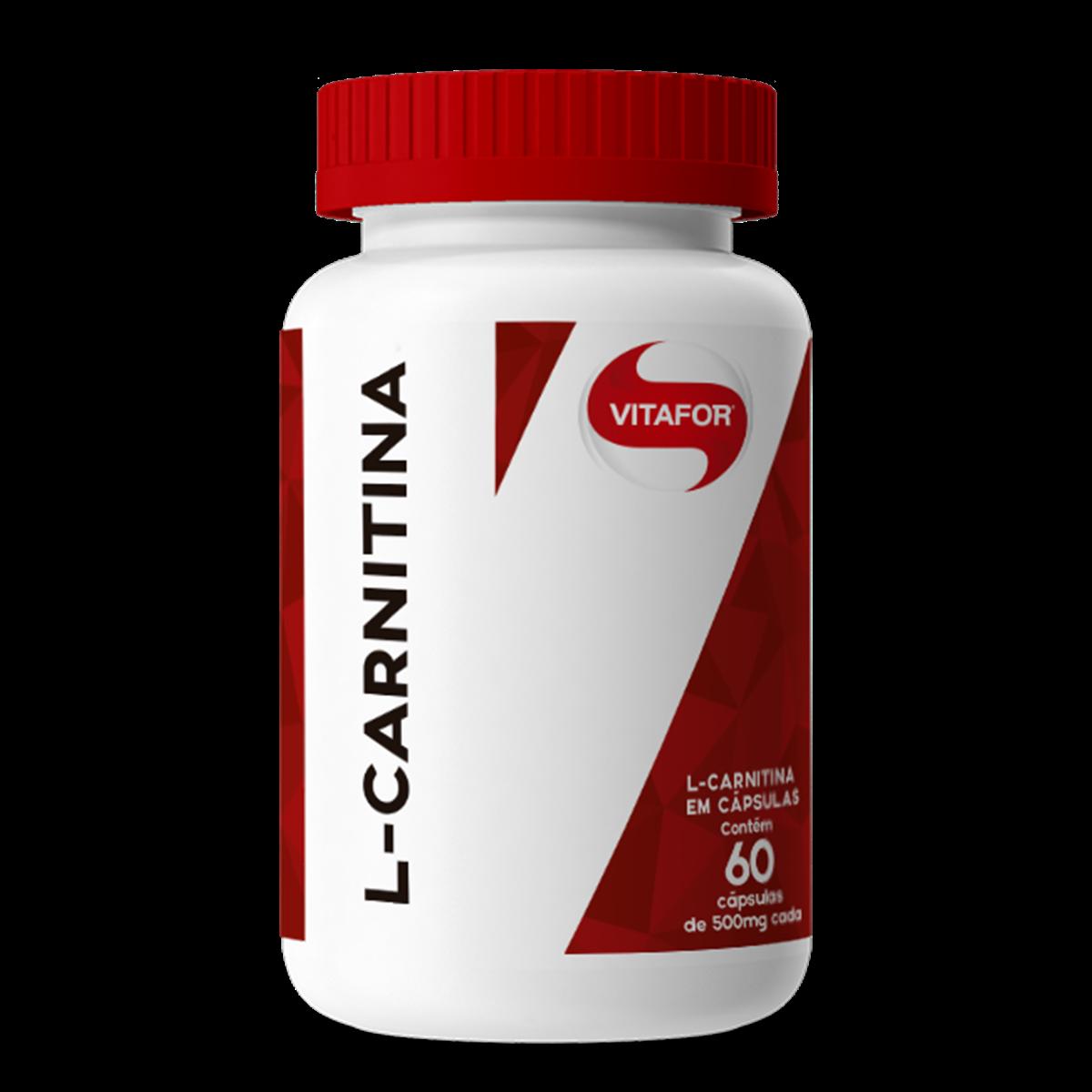 L-Carnitina - 60 caps -Vitafor