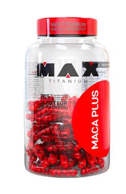 Maca Plus - 120 cap - Max Titanium