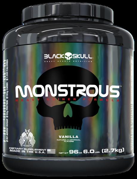 Monstrous - Black Skull