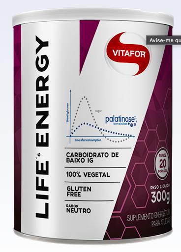 Palatinose Life's Energy - 300g - Vitafor