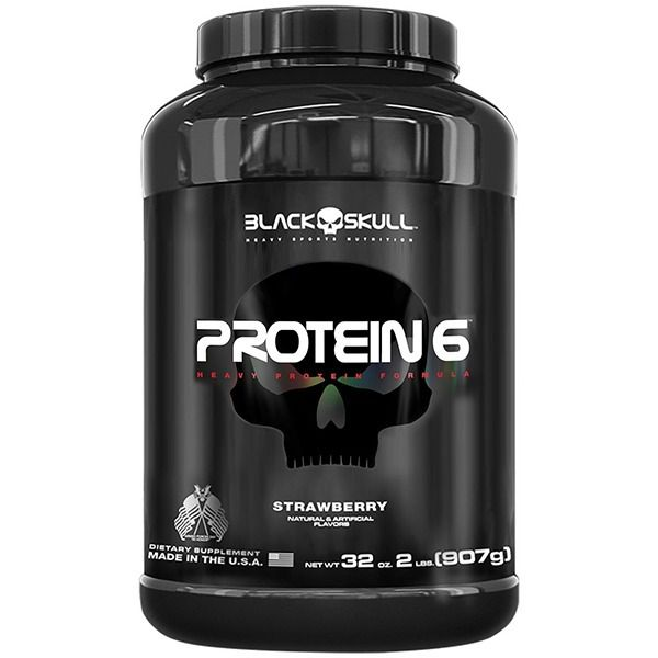 Protein 6 - Black Skull - 907gr