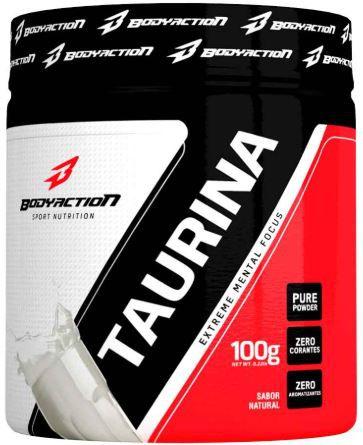 Taurina - 100g - BodyAction