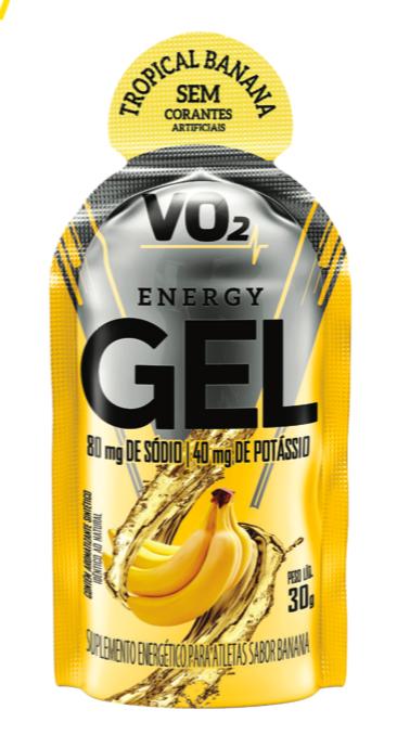 VO2 Energy Gel - Caixa c/ 10 sachês - IntegralMedica