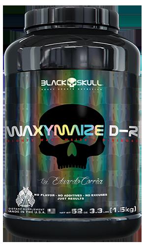 Waxymaize D-R - Black Skull