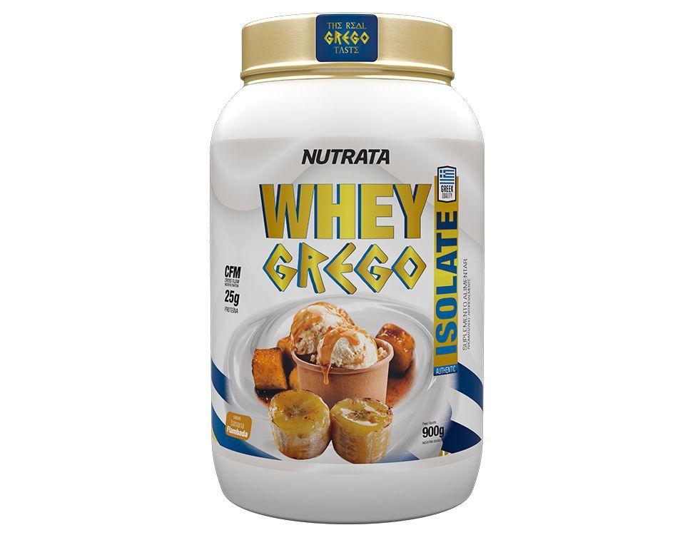 Whey Grego Isolate - Nutrata