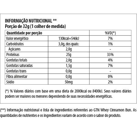 Whey - GTnutrition - REFIL
