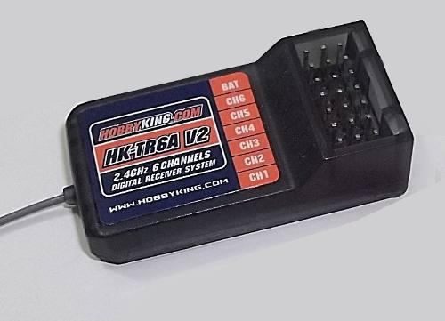 Receptor Rx Hk Tr6a V2 - 2 4ghz - 6ch - Hobby King