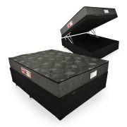 Cama Box Com Baú Casal + Colchão De Espuma D23 - Prorelax - Sienna 18x188x138cm
