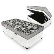 Cama Box Com Baú Solteiro + Colchão De Espuma D26 - Ortobom - Physical Ultra Resistente 88cm