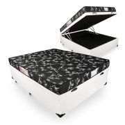 Cama Box Com Baú Viúva + Colchão De Espuma D23 - Prorelax - Topázio 128cm