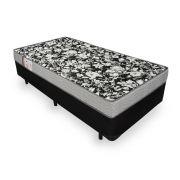 Cama Box Solteiro + Colchão De Espuma D26 - Ortobom - Physical Ultra Resistente 78cm