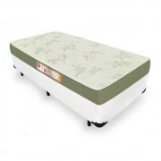 Cama Box Solteiro + Colchão De Espuma D33 - Castor - Sleep Max 88cm