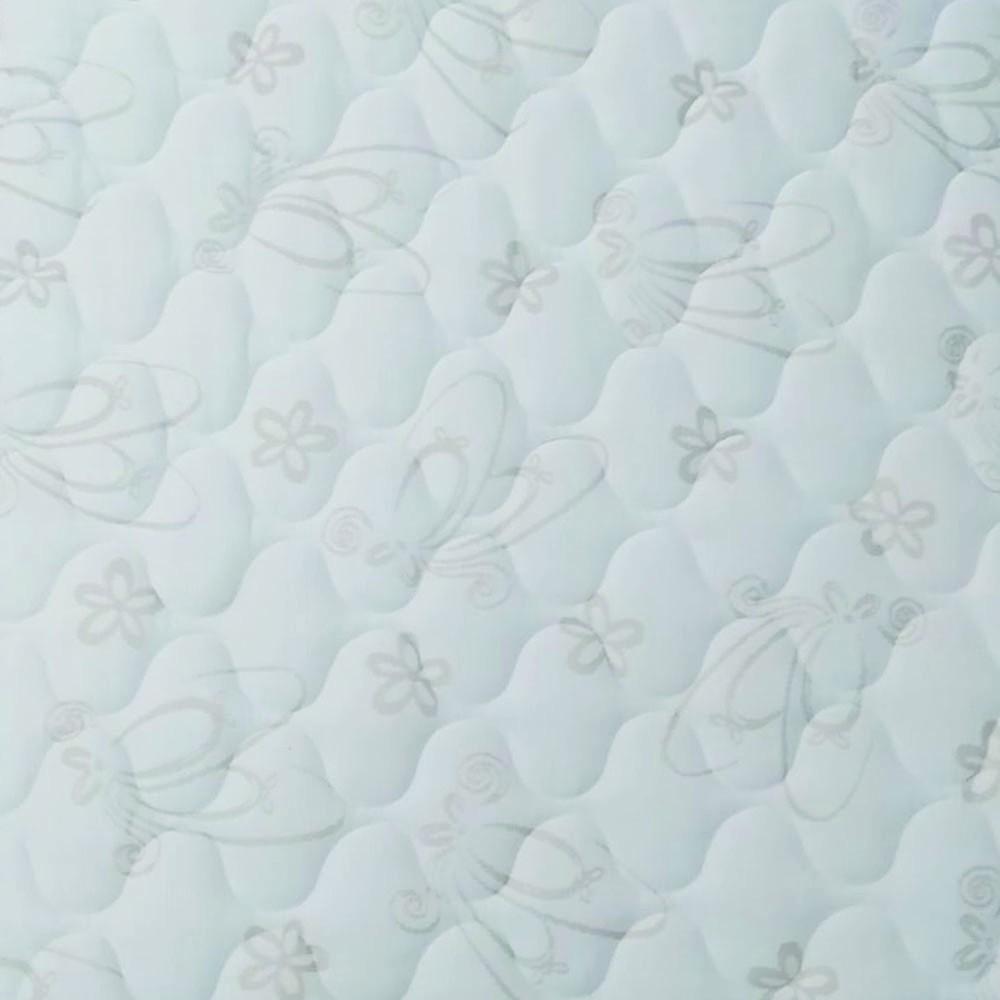 Cama Box Baú Queen Branca + Colchão de Molas Ensacadas - Comfort Prime - Prime Dreams Classic - 158x198x64cm