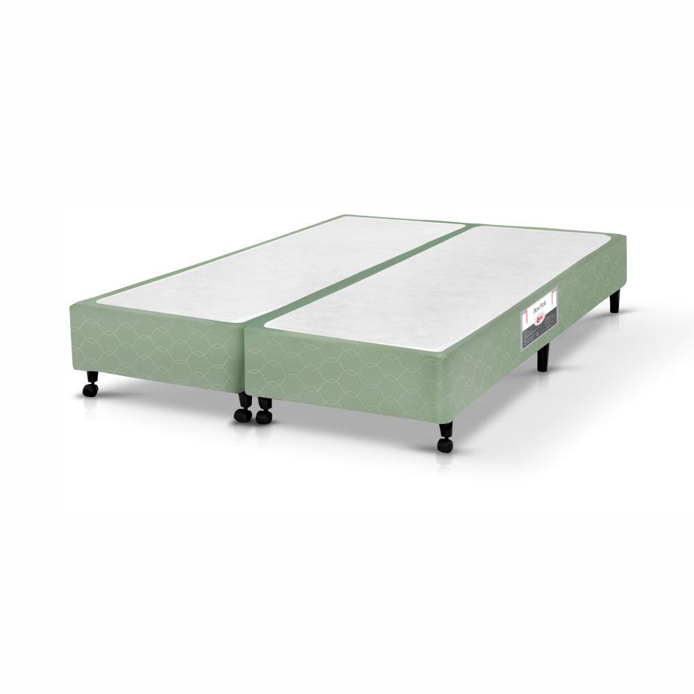 Cama Box King + Colchão De Espuma D33 - Castor - Sleep Max 58x193x203cm