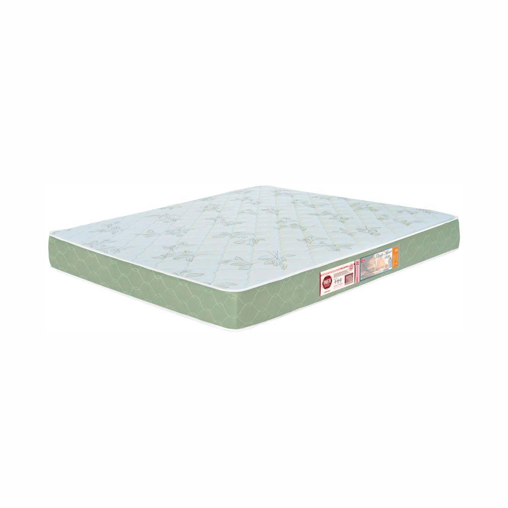 Cama Box Queen + Colchão De Espuma D33 - Castor - Sleep Max 65x158x198cm