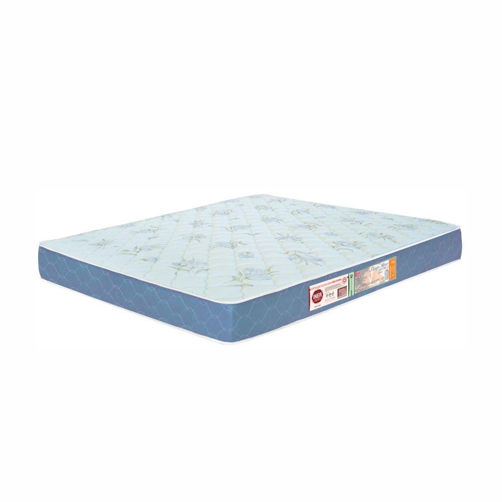 Cama Box Queen + Colchão De Espuma D45 - Castor - Sleep Max 65x158x198cm
