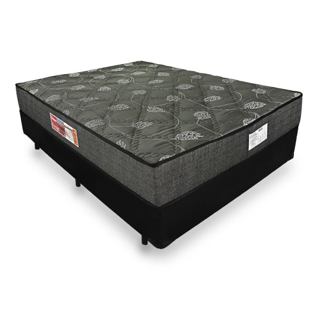 Cama Box Casal + Colchão De Espuma D23 - Prorelax - Sienna 24x188x138cm