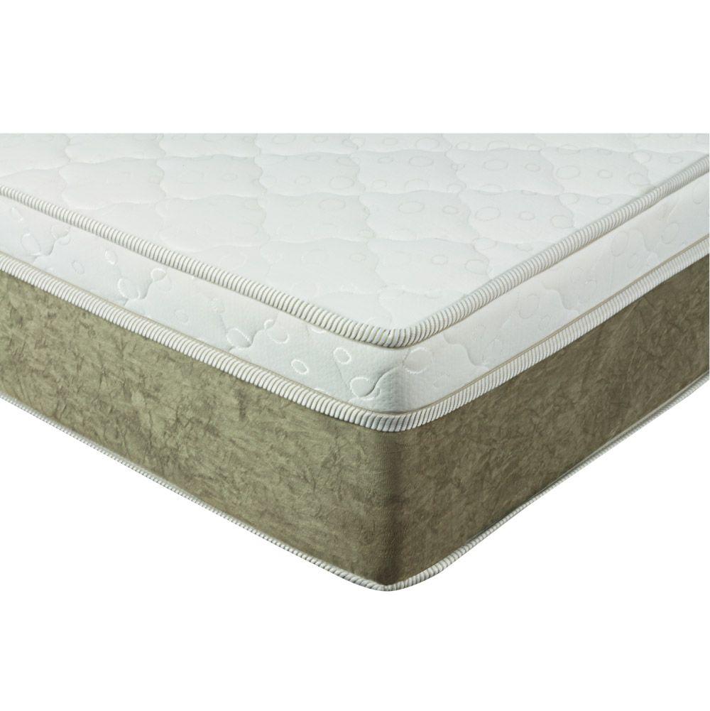 Cama Box Casal + Colchão De Molas Ensacadas - Comfort Prime - Aspen 138cm