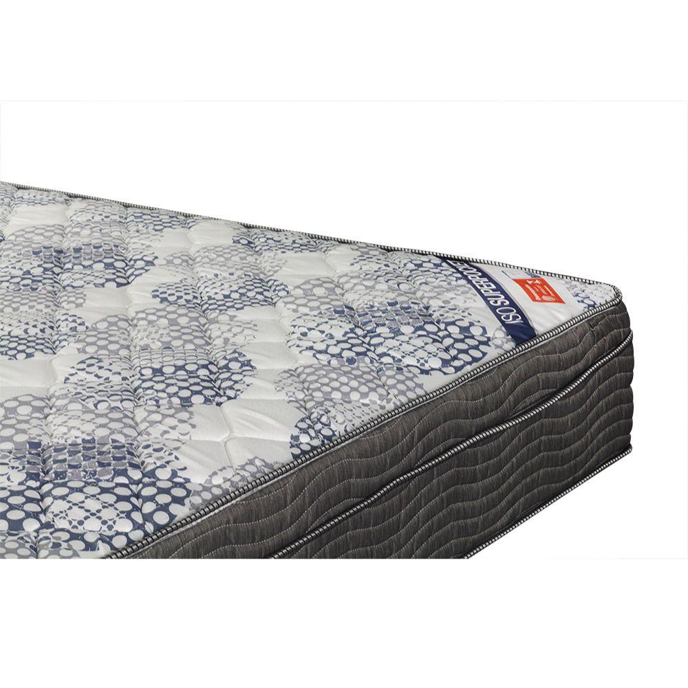 Cama Box Casal + Colchão De Molas Ensacadas - Ortobom - ISO SuperPocket 138cm